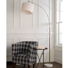 modern shade single light arc floor lamp shades of light