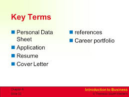 Application Resume Career Planning And Development Ppt Video Online Download
