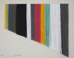diy yarn wall art two thirty five designs