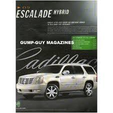 cadillac escalade size 2008 magazine print ad 2009 cadillac escalade hybrid size