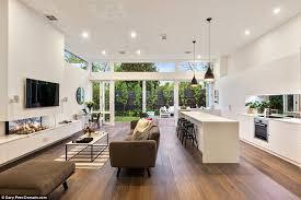 Open Plan Kitchen Living Room Flooring Inside Sam Wood And Snezana Markoski U0027s Love Nest Open Plan