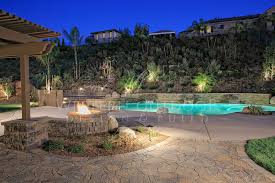 low voltage lighting near swimming pool low voltage outdoor landscape lighting gallery 1 western outdoor