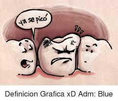 Meme Definicion - se pico definicion grafica xd adm blue meme on me me