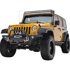 jeep wrangler tj light bar 07 16 jeep wrangler jk double 50 led light bars mount kit