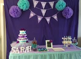 purple baby shower decorations purple baby shower decorations picture colors teal and purple ba