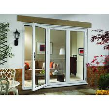 Upvc Sliding Patio Doors Wickes Millbrook Upvc External Bi Fold Door Set White Right