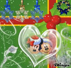 merry christmas minnie mickey picture 104550934 blingee