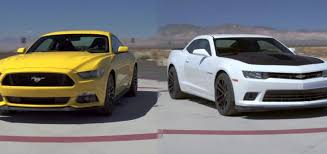 newest camaro motor trend tries the ford mustang against the chevy camaro gm