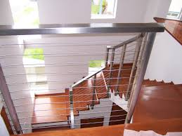 living room interior cable stair railing kits pipe rail baluster