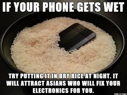 Phone Rice Meme - works like charm meme on imgur