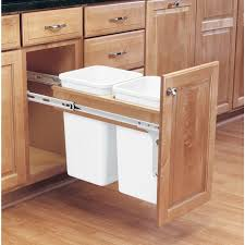Kitchen Cabinet Recycle Bins by Kitchen Trash Cabinet Kitchens Design