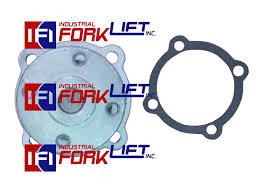 toyota forklift 3p u0026 4p engine water pump w gasket new part