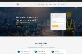 max electric electrician wordpress theme 65639