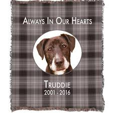 dog memorial personalized photo blankets pet memorial blankets photo pillows