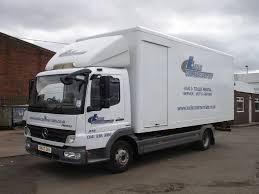 mitsubishi fuso box truck mercedes 7 5 tonne truck hire in glasgow