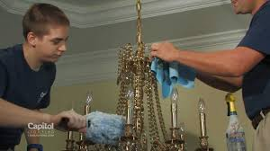 Extend A Finish Chandelier Cleaner Capitol Care Crystal Cleaning Service From Capitol Lighting Youtube