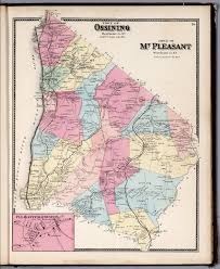 Westchester County Map Town Of Ossining Town Of Mt Pleasant Westchester County New