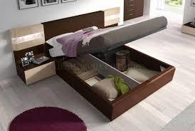 Bedroom Furniture Cream by Wenge U0026 Cream Two Tone Modern Bedroom W Optional Casegoods