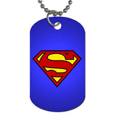 dog tag pendant necklace images Superman shield dog tag pendant necklace jpg