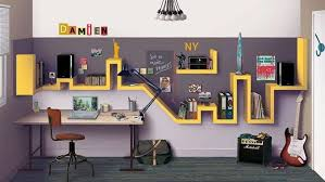chambre enfant york une chambre d ado trendy à recréer chez vous étagères murale ado