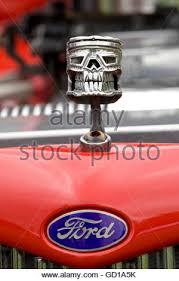 skull car ornament stock photo royalty free image 130467287