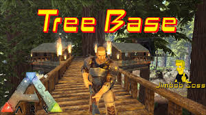 ark survival tree house base