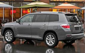 toyota highlander used 2012 2012 toyota highlander hybrid information and photos zombiedrive