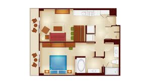 Disney Magic Floor Plan by Copper Creek Villas And Cabins At Disney U0027s Wilderness Lodge Rooms