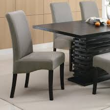 Contemporary Dining Set by Dining Table102061 In Black W Options