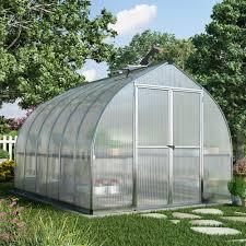 Palram Greenhouse Palram Canada 703731 8 Ft X 16 Ft Bella Greenhouse Lowe U0027s Canada