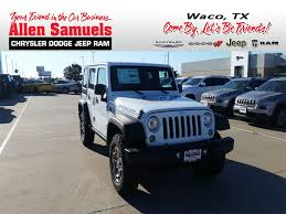 fiat jeep wrangler new 2018 jeep wrangler jk sport utility in waco 18j60039 allen