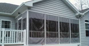 Clear Vinyl Curtains For Porch Vinyl Windows For Screened Porch