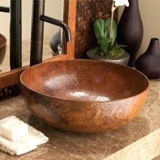 copper vessel sinks ebay copper vessel sinks rectangle hand forged old world copper vessel