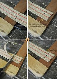 How To Reupholster A Bar Stool The Painted Hive How To Upholster A Drop In Seat From Scratch