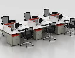 Bench Desking Platform Techo Bench Desks Desking Space Office Systems