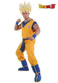 Super Trooper Halloween Costume Super Saiyan Goku Costume Size Halloween Costumes