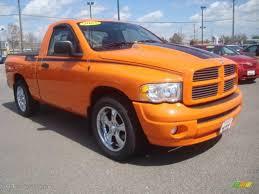 Dodge Ram Orange - 2005 custom orange dodge ram 1500 gtxtreme regular cab 6789738