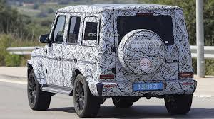 mercedes g wagon 2018 mercedes g class spied looking a lot like its 1979 ancestor