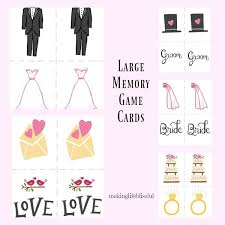 Marriage Advice Cards For Wedding Baby Shower And Wedding Shower Printable Games Making Life Blissful