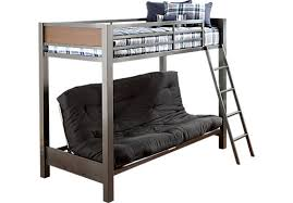 Bunk Futon Bed Louie Gray Futon Loft Bed Lofts And Room