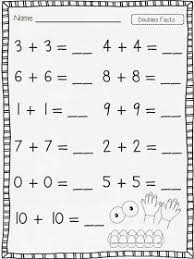 doubles addition facts worksheets freebie dice for near doubles addition strategy