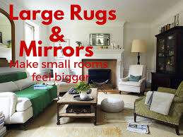 how to make a small room feel bigger airbnb vacation rental styling how to make a small room feel