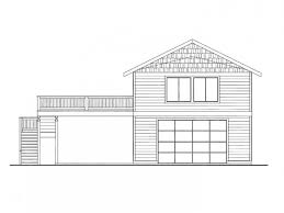 large 4 car garage apartment with double carport along side