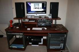 Guitar Center Desk by The Steel Guitar Forum View Topic My New Workstation