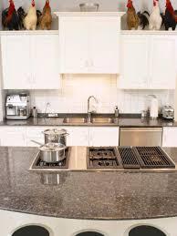 granite countertop kitchen cabinet wood types bread machine