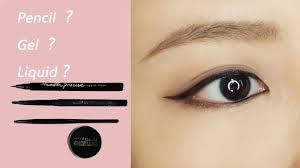 liquid eyeliner tutorial asian eyeliner tutorial for beginners gentle winged eyeliner with eyeliner