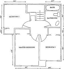 Square Bathroom Layout by Floor Plans