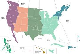 America Time Zone Map by Image United States Map Time Zones Alternity Png