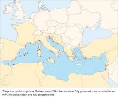 Map Mediterranean Mediterranean Version Graphics The Science Of Marine Reserves