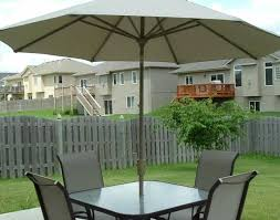 Patio Set Umbrella New Patio Set With Umbrella Interior Design Blogs